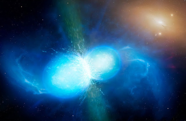 The alchemy of merging neutron stars