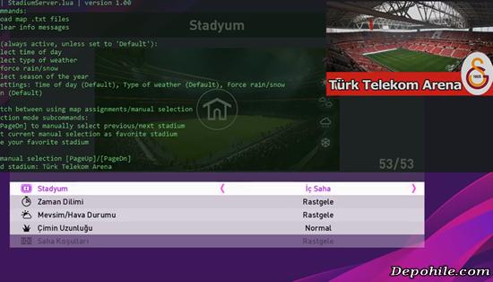 PES 2020 (PC) Türk Telekom Arena Stadyum Yaması İndir +Kurulum