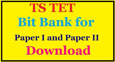Telangana State First TET 2016|Telangana Teacher Eligibity Test| TS TET Bit Bank for Paper I and Paper II|Telangana Education Department /2016/03/ts-tet-bit-bank-for-paper-i-and-paper-ii-telangana-education-department.html
