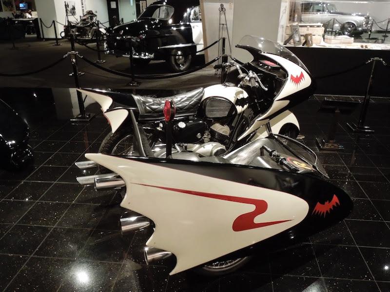 Batcycle sidecar Batman Movie