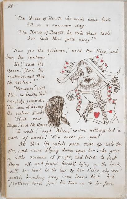 Alice Adventures Under Ground Lewis Carroll British Library