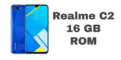 Realme c2 Diamond Blue Color