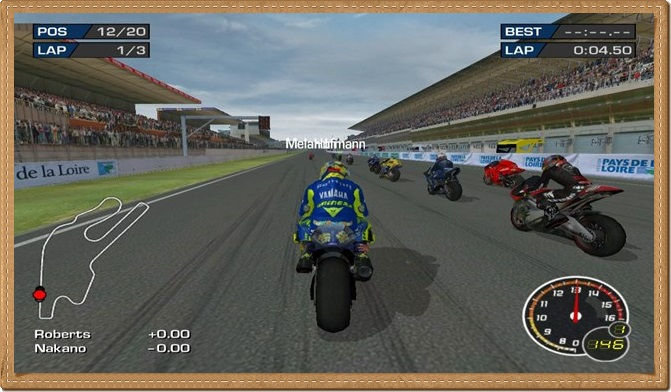 MotoGP 3 PC Games Gameplay