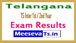 Telangana (TS) Inter 1st / 2nd Year Exam Results 2017