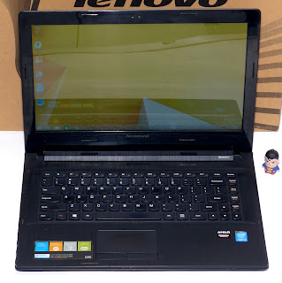 Laptop Gaming Lenovo G40-70 Core i3 Double VGA Fullset