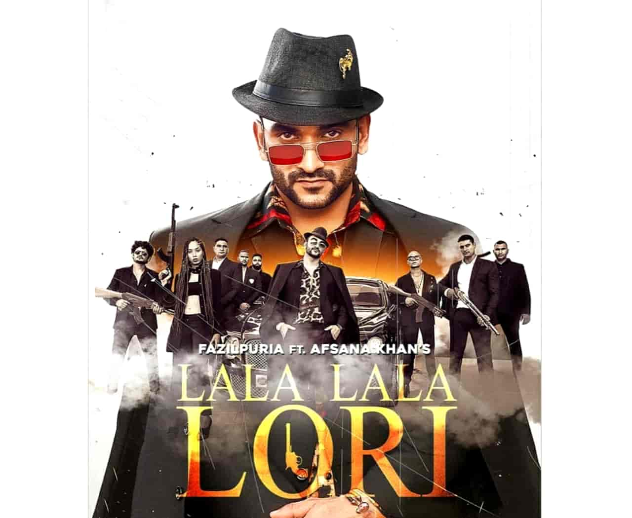 Lala Lala Lori Haryanvi Song Image Features Fazilpuria and Afsana Khan