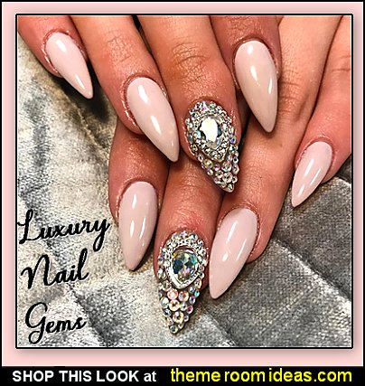 luxury crystal  gems stones nail art decorations nail decorations nail jewels nail gems nail diamonds jewelry for nails