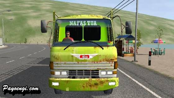 mod truck hino ranger gandeng