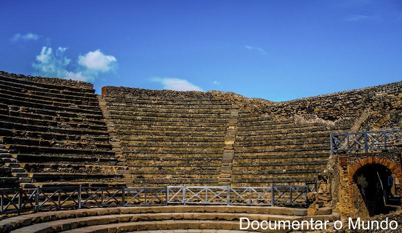 Odeion - Teatro Piccolo, Pompeia, Itália