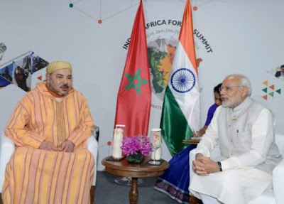العلاقات المغربية الهندية عرفت تطورا ملحوظا سنة 2019