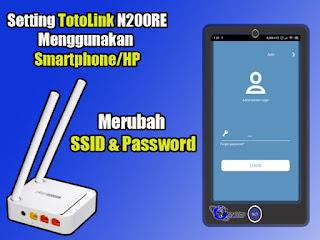 Merubah SSID & Password Access Point