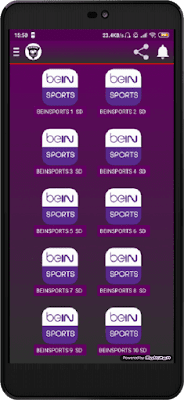 تحميل تطبيق be live الجديد لمشاهدة القنوات العالمية مباشرة على الأندرويد