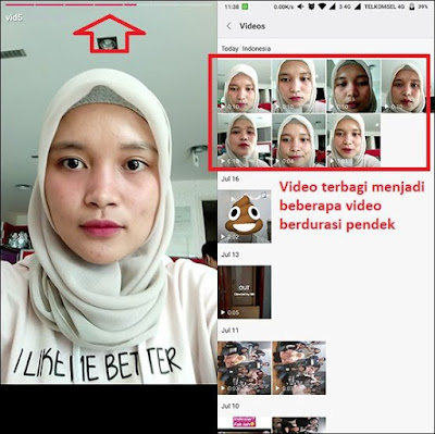 upload video durasi panjang di insta storis