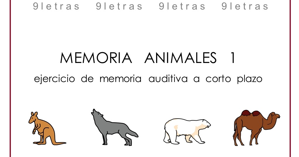 Burbuja de Lenguaje: Animales 9 Letras