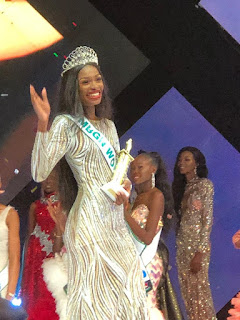 Miss Rivers, Nyeka Douglas Wins MBGN 2019 - Nigerians React.