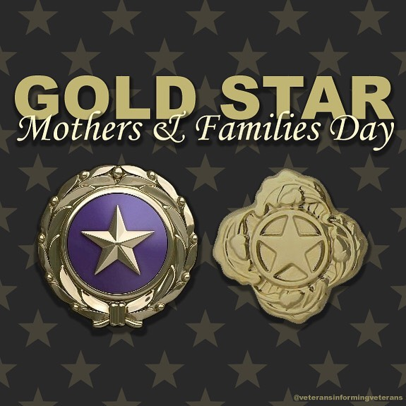 Gold Star Mother's and Family Day Wishes for Whatsapp