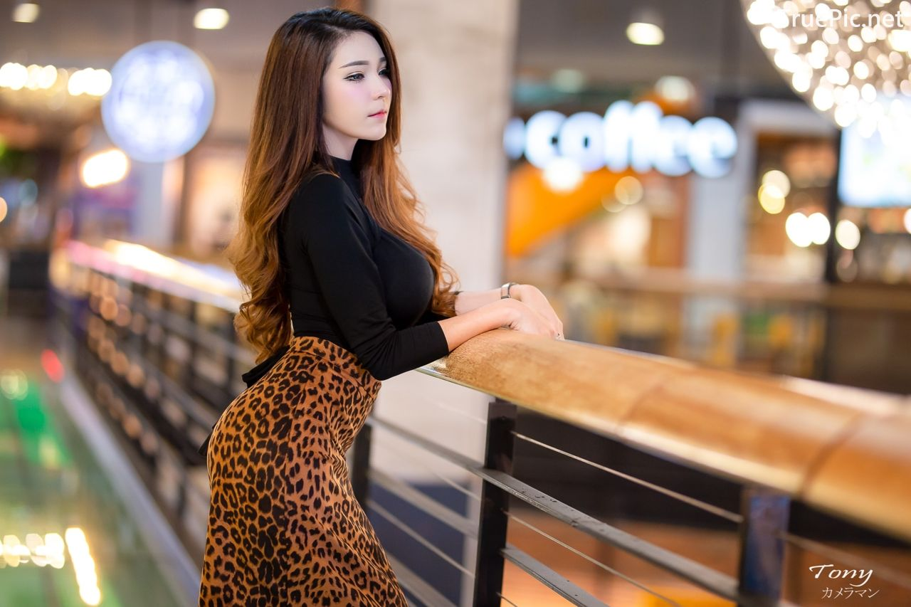Image-Thailand-Hot-Model-Janet-Kanokwan-Saesim-Sexy-In-Black-And-Leopard-Fabric-TruePic.net- Picture-3