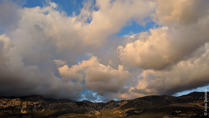 Облака над горами, Черногория