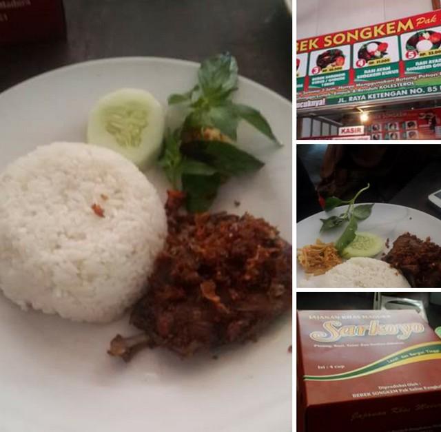 Bebek Songkem Pak Salim, Sajian Lezat Kuliner Bebek di Bangkalan