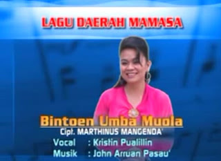 Lirik Lagu Toraja Bintoen Umba Muola (Kristin Pualillin)