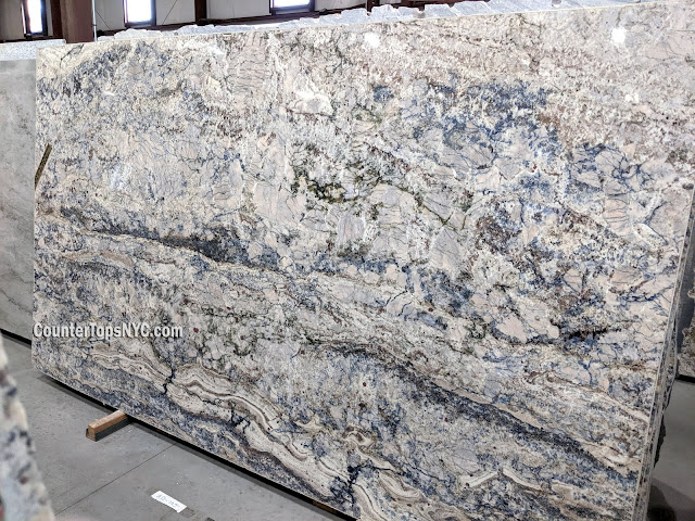 Blue Granite Stone Azurite Granite Slab NYC