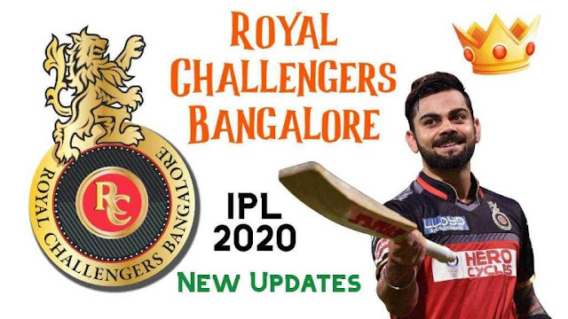 The things you should know about Royal Challengers Bangalore IPL 2020 [RCB]