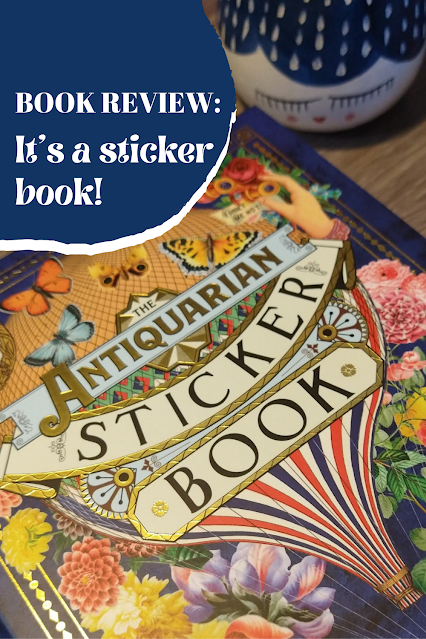 Book Review: The Antiquarian Sticker Book