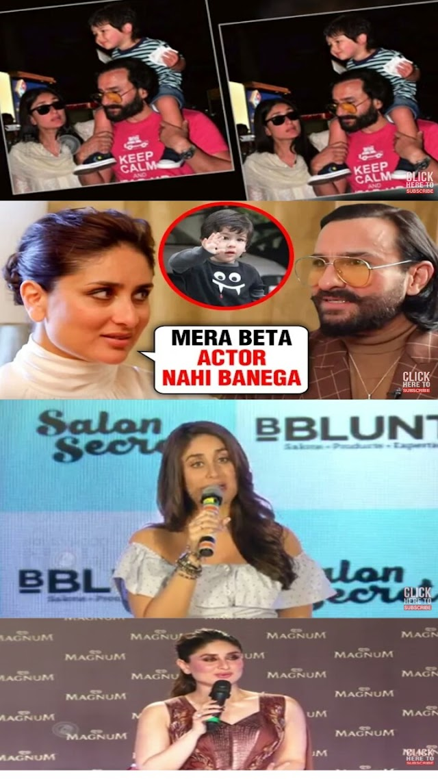 Kareena Kapoor SHOCKING Reaction On Son Taimur's Bolywood Debut