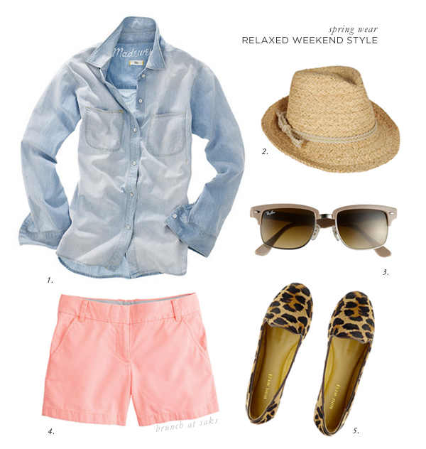 relaxed spring/summer look