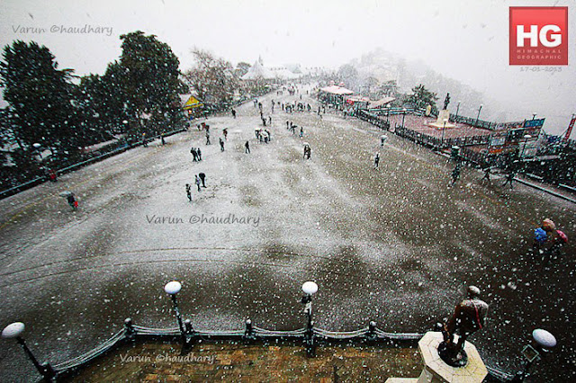 Today Shimla has first snowfall in 2013 and this Photo Journey shares some of the snow covered hills of Shimla. Big Thanks to Sanjeev, Vandana & Varun for sharing these moments with us on PHOTO JOURNEY. Let's check out and know about the fresh snowfalls in Himachal Pradesh (INDIA).Today Facebook and Twitter were flooded with snowfall photographs from Shimla by various friends. There is lot of excitment about this snowfall, although at the same time people felt bad about the rainfall just after that which spoiled the fun. Although people are having fun with whatever snow Shimla has got.This Photo Journey is shared by Sanjeev Sharma, Vandana Bhagra & Varun Chaudhary. All of them have shared some great Photo Journeys with us in past and especially on snowfall in Shimla. Please check out following links by each of them -Sanjeev - http://phototravelings.blogspot.com/2012/01/white-photo-journey-from-mall-road.htmVandana - http://phototravelings.blogspot.com/2012/01/shimla-greets-tourists-with-welcoming.html Varun - http://phototravelings.blogspot.com/2012/01/record-snowfall-in-himachal-pradesh.htmlWe shall keep updating about future activities in Shimla after this snowfall as more is expected soon.