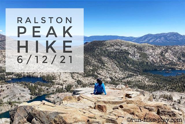 hiking Ralston Peak