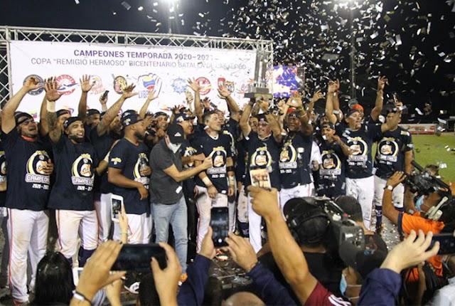 ¡Caribes arrasó en la final y se tituló campeón!