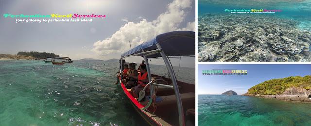 Pakej Pulau Perhentian, Perhentian Kecil Services