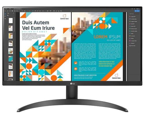 LG 24QP500-B 24 QHD IPS Display QHD IPS HDR 10 Monitor