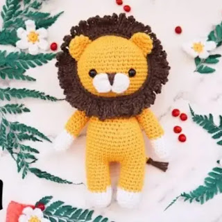 Amigurumi León a Crochet