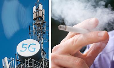 Wi-Fi e 5G hanno la stessa probabilità di causare tumori delle sigarette