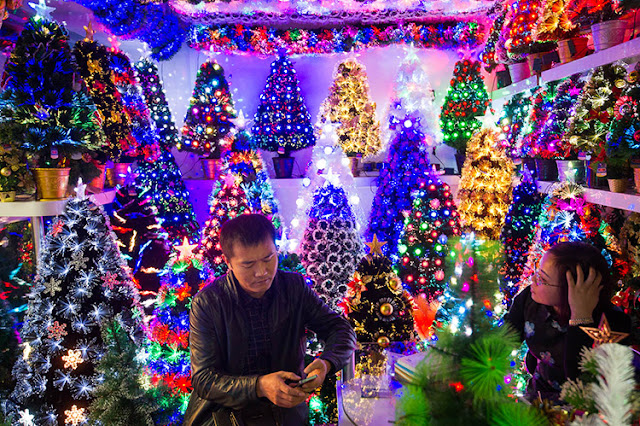 Christmas Yiwu in China