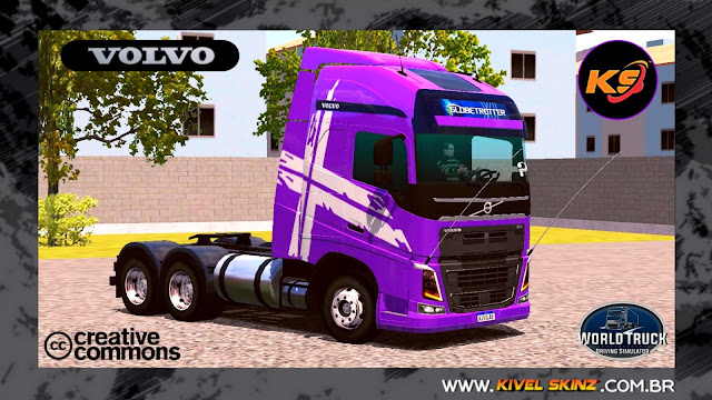 VOLVO FH16 750 - PERFORMANCE EDITION ROXO