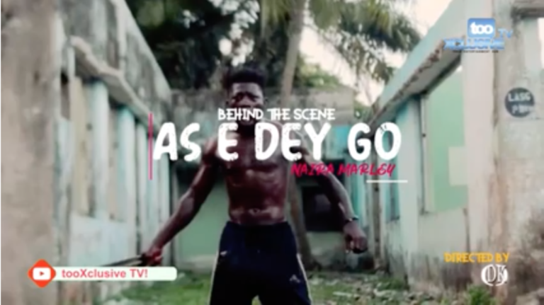 "Behind the scenes VIDEO: Naira Marley – ""As E Dey Go #Arewapublisize"