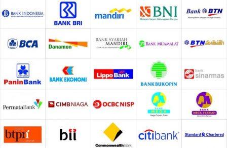 kode bank BRI, BCA, BNI, MANDIRI