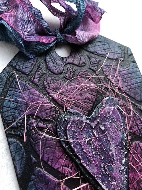 Mixed Media MDF Tag by Nikki for Lisa Horton Crafts