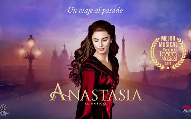 Cartel del musical Anastasia