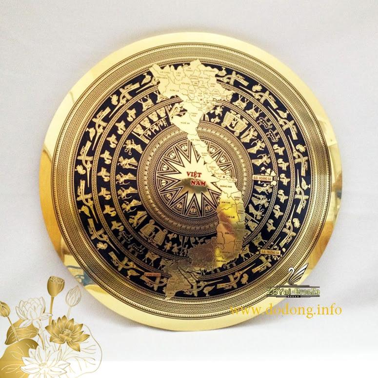[A117] Quà tặng mặt trống đồng Ngọc Lũ cao cấp
