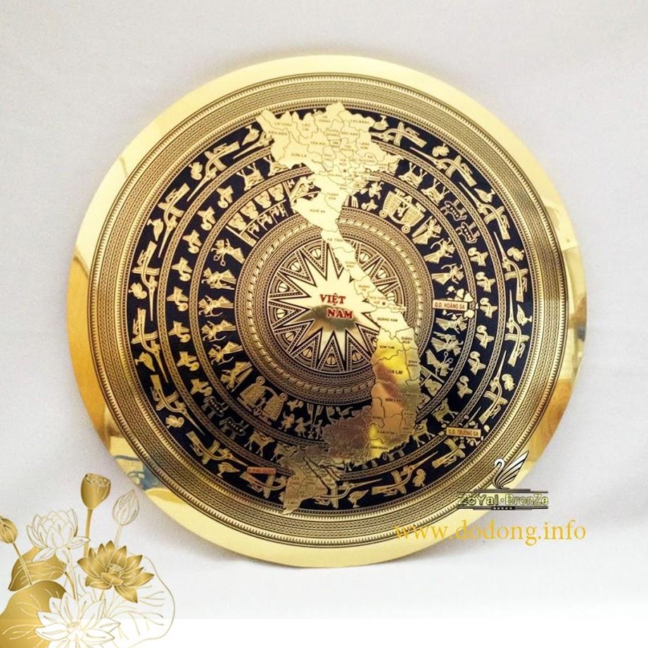 [A117] Top 10 mẫu mặt trống đồng treo tường chạm khắc tinh xảo