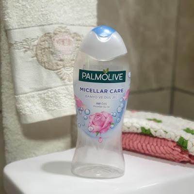 palmolive micellar care duş jeli, palmolive micellar duş jeli gül özlü