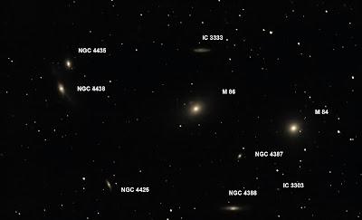 M86, M84, NGC4438, NGC4435...