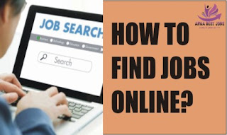 HOW TO FIND JOBS ONLINE?