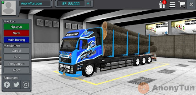 MOD BUSSID Truck Volvo