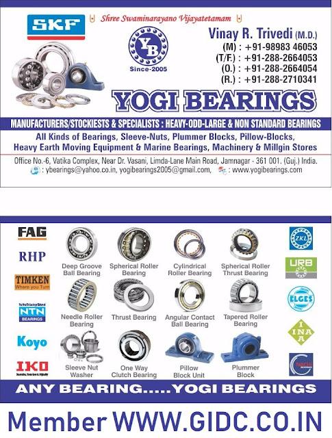 YOGI BEARINGS - 9898346053