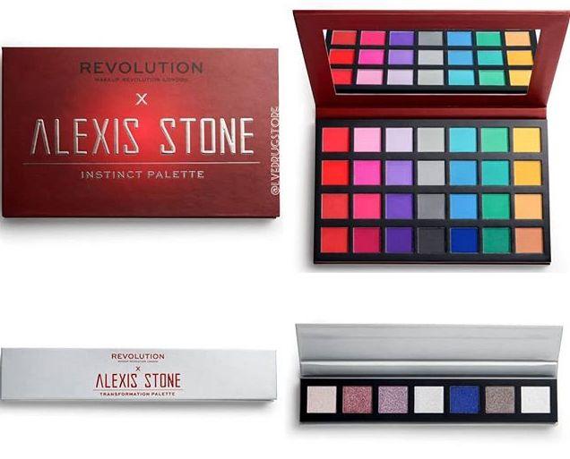 Alexis Stone kolaboracja z Makeup Revolution